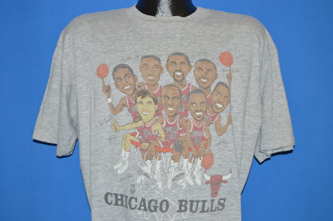 90s Chicago Bulls Illinois Lottery Hoopla t-shirt Extra Large
