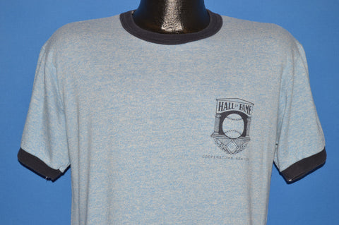 80s Hall of Fame Cooperstown NY Rayon Tri Blend t-shirt Large