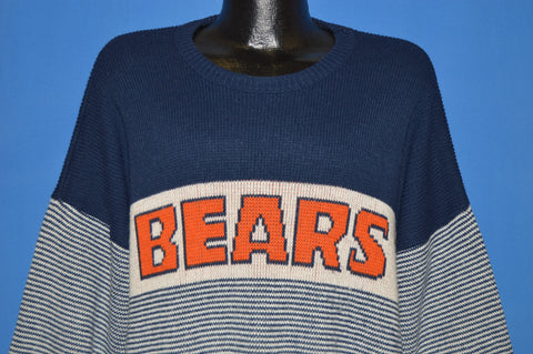 80s Chicago Bears Football Sweater Extra Large