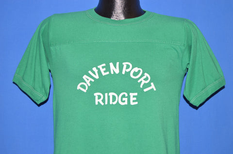 70s Davenport Ridge White Stitching Jersey t-shirt Small