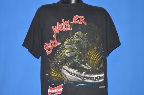 90s Budweiser Frogs This Buds For You t-shirt Extra Large