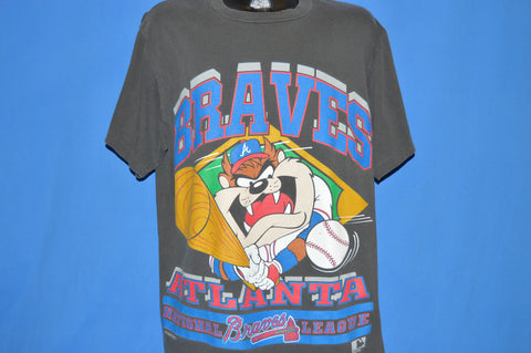 90s Atlanta Braves Taz The Tasmanian Devil t-shirt Extra Large