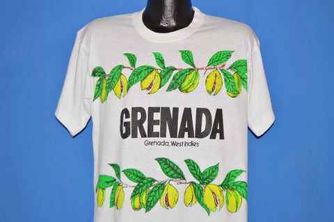 90s Grenada West Indies Papaya t-shirt Large