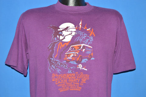 80s Cypress Vans Cajun Party VI 1981 t-shirt Medium