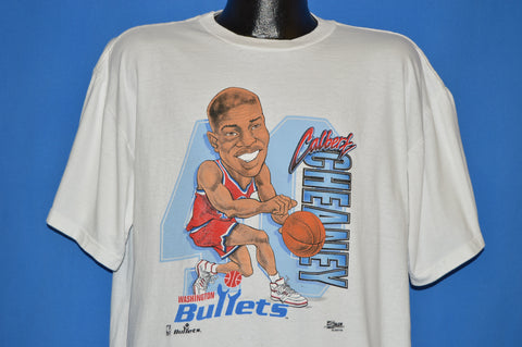 90s Washington Bullets Calbert Cheaney t-shirt Extra Large