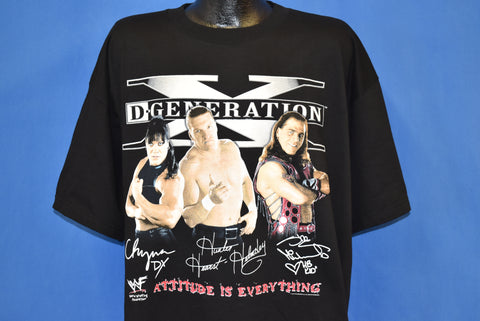 90s D-Generation X Wrestling Stable t-shirt 2XL