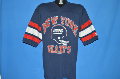 90s New York Giants Striped Jersey t-shirt Extra Large