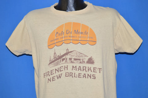 80s Cafe Du Monde New Orleans Coffee t-shirt Large