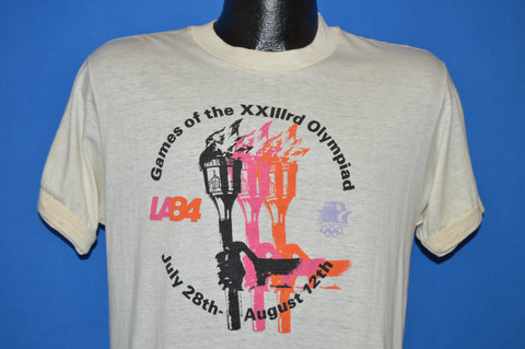 80s XXII Olympic Games Los Angeles 1984 t-shirt Medium