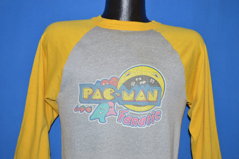 80s Pac Man Fanatic Arcade Jersey t-shirt Medium