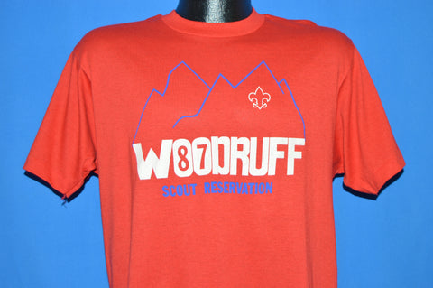 80s Woodruff Boy Scout Reservation 1987 t-shirt Medium