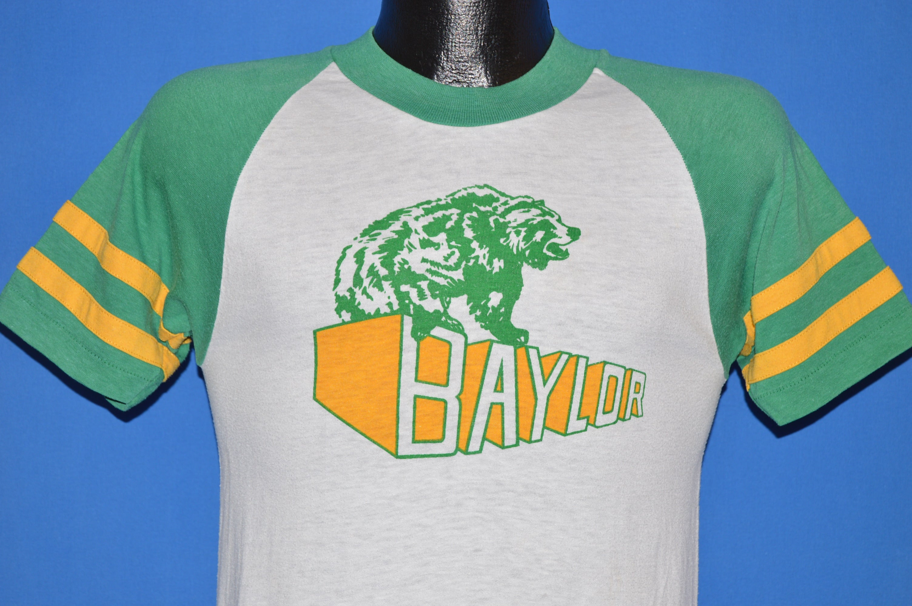 22dca65c 70s Baylor University Bears Jersey t-shirt Small - The Captains Vintage