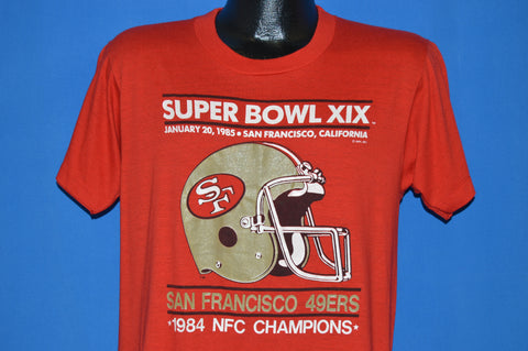 80s San Francisco 49ers Super Bowl XIX t-shirt Large