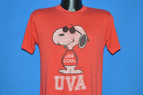 80s University Of Virginia Snoopy Joe Cool t-shirt Medium