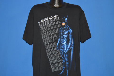90s Batman Forever Rooftop Romeo Classified AD t-shirt Extra Large