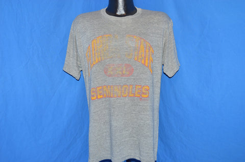 80s Florida State Seminoles Rayon Tri Blend t-shirt Large