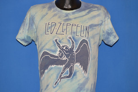80s Led Zeppelin Official Tie Dye Icarus Logo t-shirt Medium