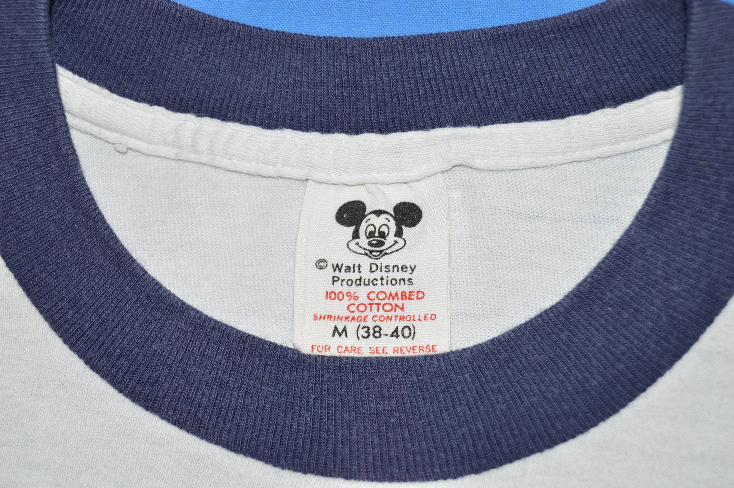 5331ea4e 70s Mickey Mouse Walt Disney World Ringer t-shirt Medium - The ...