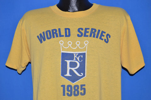 80s Kansas City Royals 1985 World Series t-shirt Large