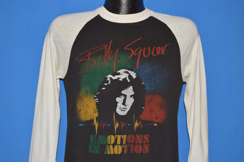 80s Billy Squire 1982 Emotions In Motion Jersey t-shirt Small