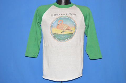 80s Christopher Cross Flamingo t-shirt Medium