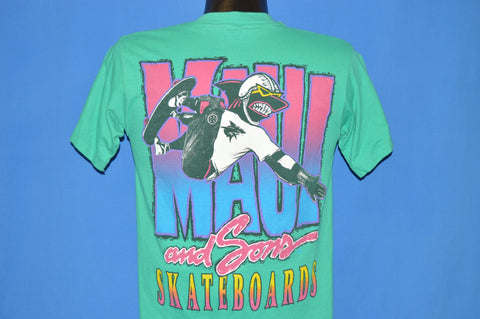 80s Maui And Sons Skateboards Sharkey t-shirt Youth Large