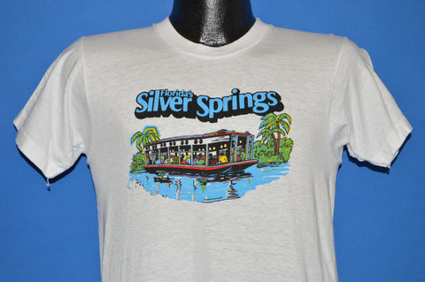 70s Silver Springs Florida River Boat t-shirt Small