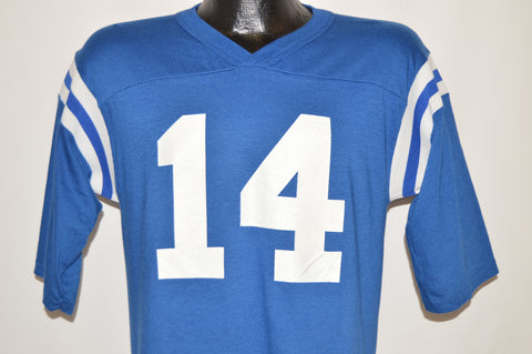 80s Football Jersey #14 V-Neck t-shirt Medium