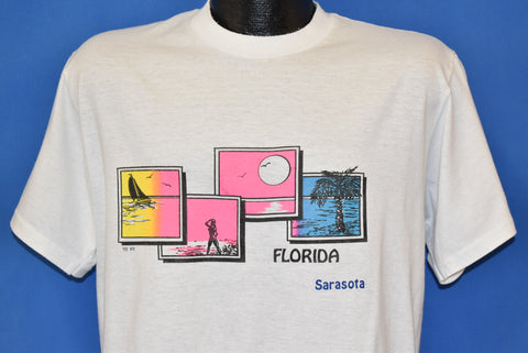 80s Sarasota Florida Sunset Tourist t-shirt Large