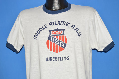 80s Middle Atlantic Wrestling t-shirt Large