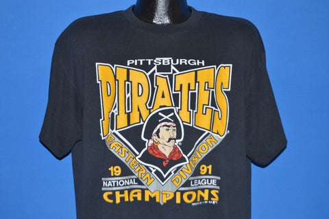 90s Pittsburgh Pirates 1991 NL East Champs t-shirt Extra Large