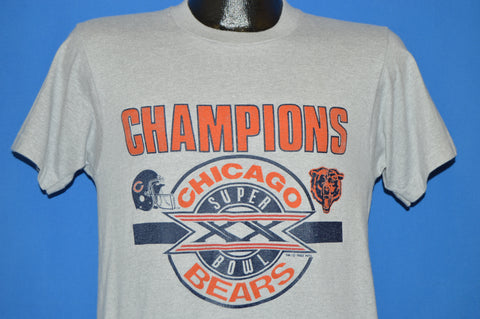 80s Chicago Bears Super Bowl XX Champs 1985 t-shirt Small