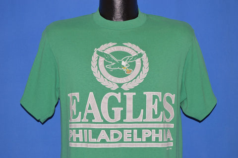 80s Philadelphia Eagles Kelly Green t-shirt Medium