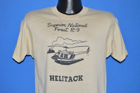 70s Helitack Superior National Forest t-shirt Medium