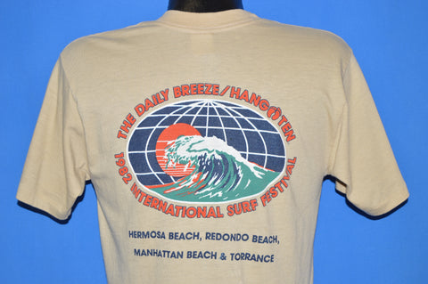 80s Daily Breeze 1982 International Surf Festival t-shirt Medium