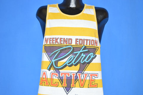 90s Retro Active Weekend Edition Tank Top t-shirt Youth XL