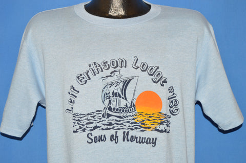 80s Leif Erikson Lodge #189 t-shirt Large