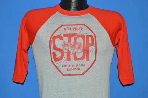 80s You Cant Stop North Park School Jersey t-shirt Youth Large