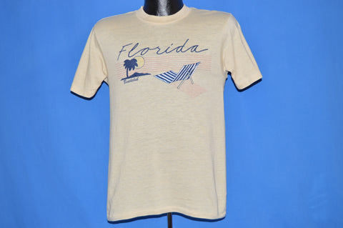 80s Florida Beach Club Tourist t-shirt Small
