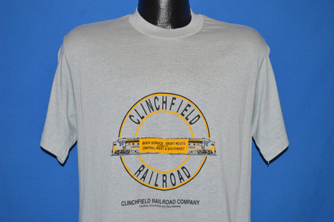 80s Clinchfield Railroad t-shirt Medium
