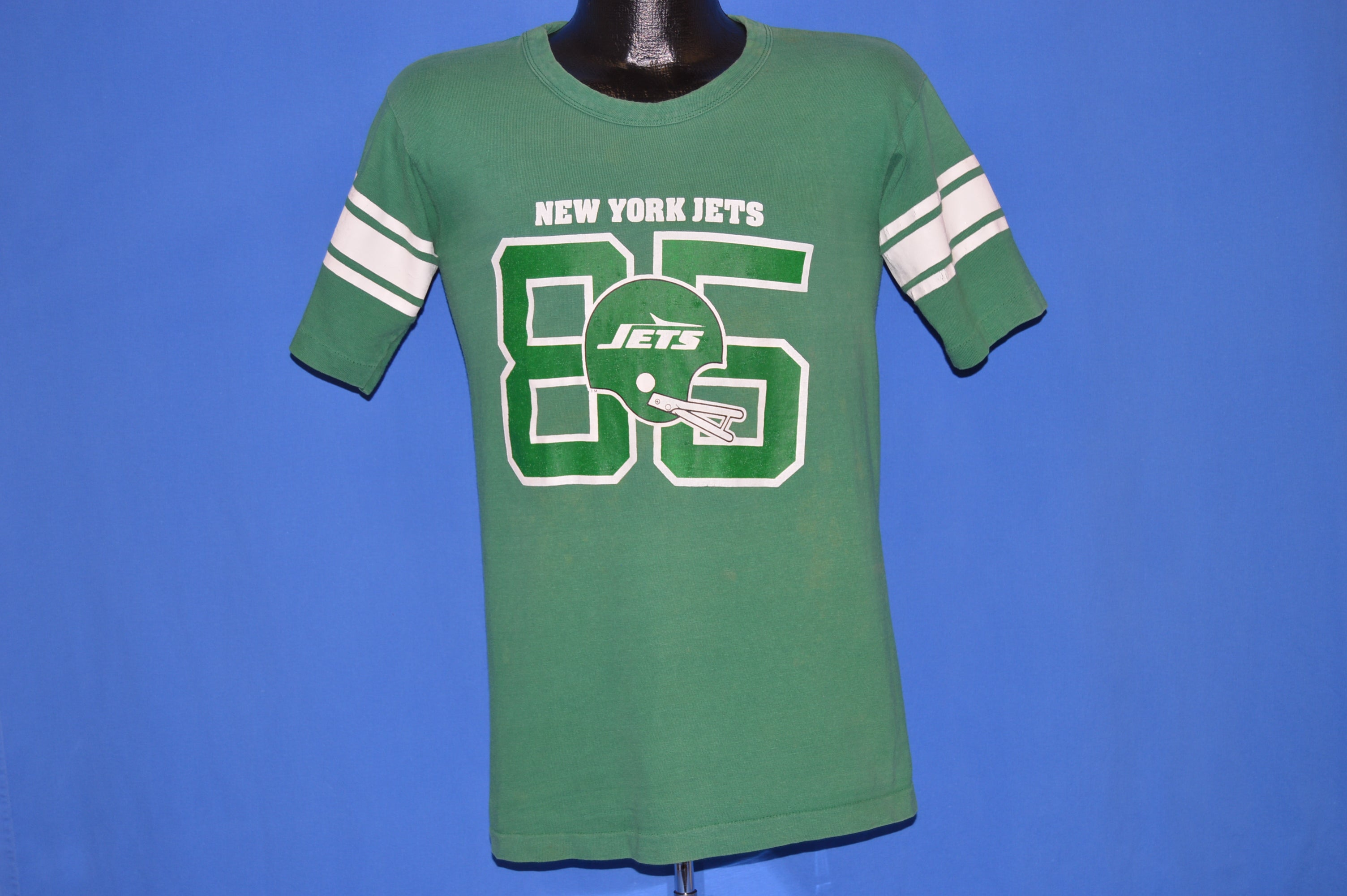 70s New York Jets #85 Wesley Walker Jersey t shirt Small The  hot sale