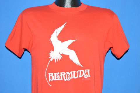80s Bermuda Longtail Bird t-shirt Medium