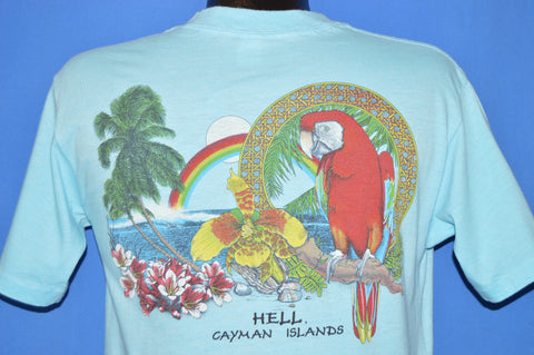 80s Hell Grand Cayman Islands t-shirt Medium
