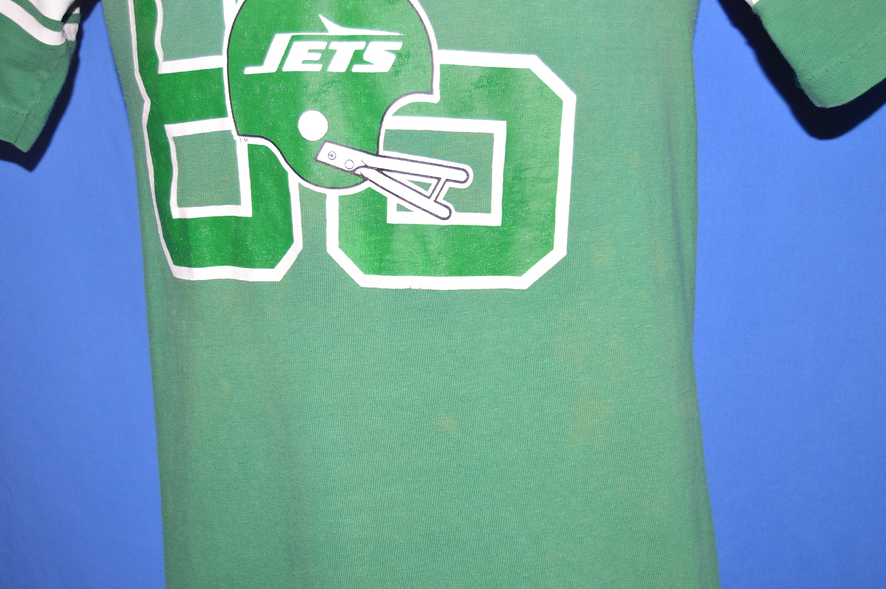70s New York Jets #85 Wesley Walker Jersey t shirt Small The  for cheap
