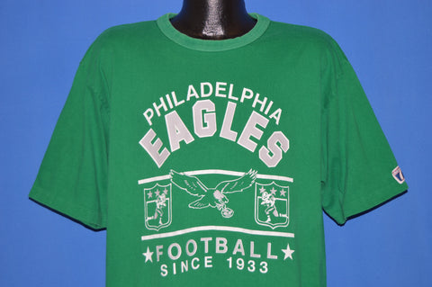 90s Philadelphia Eagles Kelly Green t-shirt Extra Large
