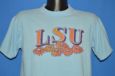 70s Louisiana State University LSU Sunflowers t-shirt Large