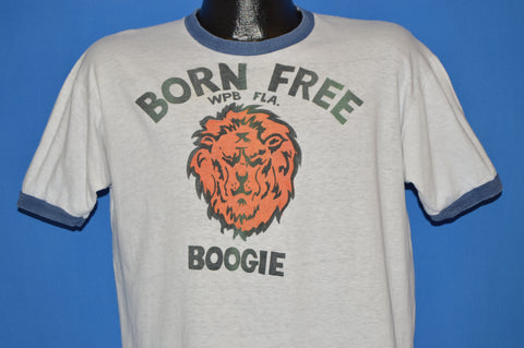 60s Born Free Boogie West Palm Beach Florida t-shirt Large