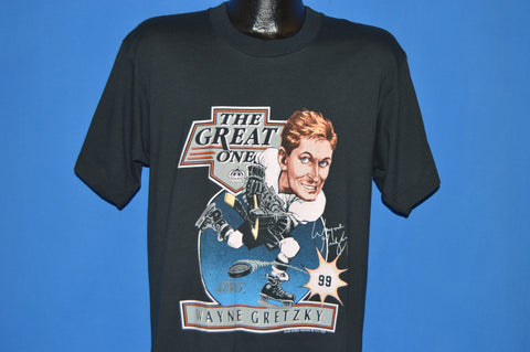 80s Wayne Gretzky The Great One L.A Kings t-shirt Large