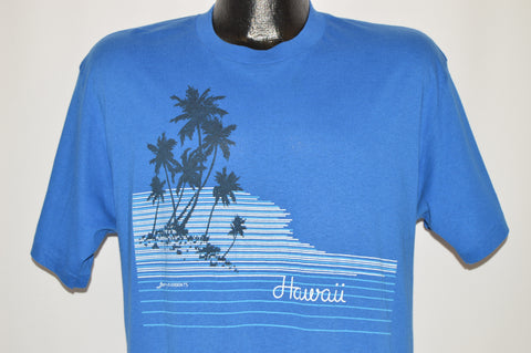 80s Hawaii Palm Trees Beach t-shirt Large