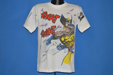 90s Wolverine Snikt Marvel Comics t-shirt Medium